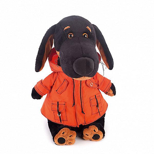 Купить Мягкая игрушка Budi Basa Собака Ваксон в оранжевой ветровке, 25см, Россия, Унисекс