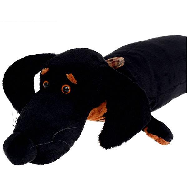 Ваксон - подушкаСимвол 2018 года: Собака<br>Характеристики товара:<br><br>• возраст: от 3 лет;<br>• материал: текстиль, искусственный мех;<br>• высота игрушки: 65 см;<br>• размер упаковки: 65х19х10 см;<br>• вес упаковки: 246 гр.;<br>• страна производитель: Россия.<br><br>Мягкая игрушка «Ваксон подушка» Budi Basa — очаровательный песик с добрыми глазками и длинными ушками. На Ваксоне клетчатая бабочка. Выполнена игрушка в виде подушки, на которой будет приятно и уютно спать.<br><br>Мягкую игрушку «Ваксон подушка» Budi Basa можно приобрести в нашем интернет-магазине.<br>Ширина мм: 650; Глубина мм: 19; Высота мм: 10; Вес г: 246; Возраст от месяцев: 36; Возраст до месяцев: 2147483647; Пол: Унисекс; Возраст: Детский; SKU: 7417252;