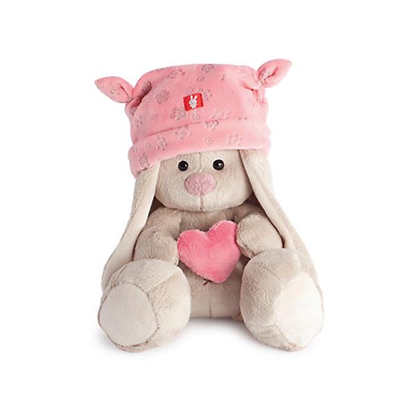 Зайка Ми в розовой шапке с сердечком (малыш)Мягкие игрушки животные<br>Характеристики товара:<br><br>• возраст: от 3 лет;<br>• материал: текстиль, искусственный мех;<br>• высота игрушки: 15 см;<br>• размер упаковки: 13,5х13х13 см;<br>• вес упаковки: 210 гр.;<br>• страна производитель: Россия.<br><br>Мягкая игрушка «Зайка Ми в розовой шапке с сердечком» Budi Basa — очаровательный пушистый зайчонок с длинными ушками. На зайке розовая шапочка с забавными ушками, а в лапках она держит сердечко. Игрушка выполнена из качественного безопасного материала, настолько приятного и мягкого, что ребенок будет брать с собой зайку в кроватку и спать в обнимку.<br><br>Мягкую игрушку «Зайка Ми в розовой шапке с сердечком» Budi Basa можно приобрести в нашем интернет-магазине.<br>Ширина мм: 135; Глубина мм: 135; Высота мм: 130; Вес г: 210; Возраст от месяцев: 36; Возраст до месяцев: 2147483647; Пол: Унисекс; Возраст: Детский; SKU: 7417256;