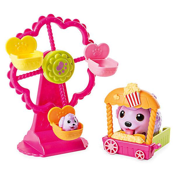 Игровой набор Chubby Puppie, колесо обозренияИгровые наборы с фигурками<br>Характеристики:<br><br>• возраст: от 4 лет;<br>• игровые наборы с собачками;<br>• наличие аксессуаров и питомцев;<br>• взрослая собачка ходит вперевалочку и подпрыгивает;<br>• маленький щенок замер в фиксированной позе;<br>• фигурки коллекционные;<br>• серия наборов, совместимых друг с другом;<br>• тип батареек: 1 шт. типа ААА;<br>• батарейки включены в комплект;<br>• материал: пластик;<br>• размер упаковки: 10х19х30 см;<br>• вес: 685 г.<br><br>Игровой набор с героями Chubby Puppie «Колесо обозрения» включает в себя карусель, которую собачки сами крутят. Фигурка взрослой собачки подвижна. Сюжетно-ролевая игра с собачками развивает фантазию, образное мышление, воображение. <br><br>Игровой набор Chubby Puppie, паровозик можно купить в нашем интернет-магазине.<br>Ширина мм: 101; Глубина мм: 304; Высота мм: 190; Вес г: 685; Возраст от месяцев: 48; Возраст до месяцев: 2147483647; Пол: Унисекс; Возраст: Детский; SKU: 7418220;