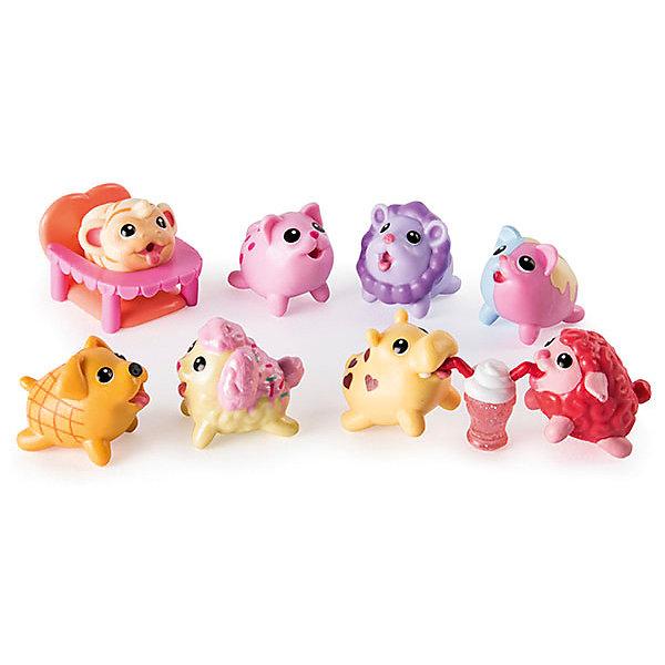 Игровой набор Chubby Puppie, 10 предметов, питомникИгровые фигурки животных<br>Характеристики:<br><br>• возраст: от 4 лет;<br>• игровой набор с минифигурками;<br>• коллекционные фигурки упитанных собачек;<br>• фигурка-сюрприз спрятана в коробочке;<br>• в комплекте: 8 фигурок животных, 2 аксессуара;<br>• материал: пластик;<br>• размер упаковки: 25х20х6 см;<br>• вес: 330 г.<br><br>Игровой набор персонажей Chubby Puppie состоит из 10 предметов. Девочки могут играть питомцами, как отдельными игрушками, так и в комплекте с различными наборами «Упитанные собачки». Сюжетно-ролевые игры развивают образное и логическое мышление, пополняют словарный запас, позволяют расширять кругозор. <br><br>Игровой набор Chubby Puppie, 10 предметов, питомник можно купить в нашем интернет-магазине.<br>Ширина мм: 63; Глубина мм: 203; Высота мм: 254; Вес г: 330; Возраст от месяцев: 48; Возраст до месяцев: 2147483647; Пол: Унисекс; Возраст: Детский; SKU: 7418228;