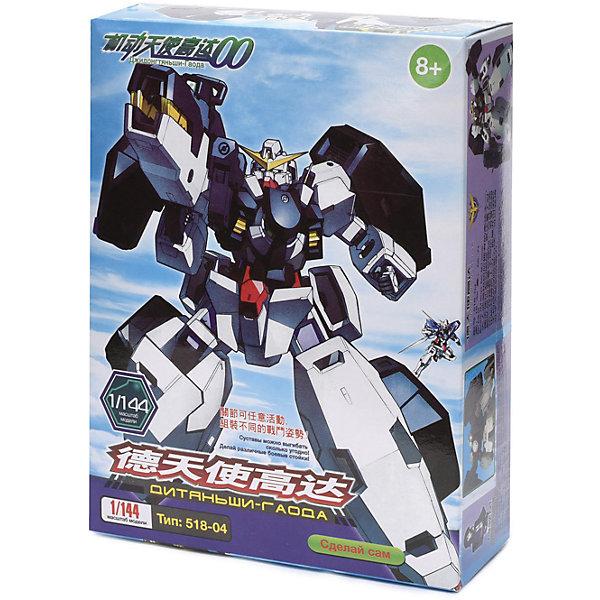 Модель для сборки робот Дитяньши-Гаода3D пазлы<br>Характеристики товара:<br><br>• возраст: от 8 лет;<br>• материал: пластик, металл;<br>• количество деталей: 36 шт.;<br>• размер упаковки: 17х7х23 см.;<br>• упаковка: картонная коробка;<br>• вес в упаковке: 280 гр.;<br>• бренд, страна бренда: Kakadu, Россия;<br>• страна-изготовитель: Китай.<br><br>Модель для сборки робот «Дитяньши-Гаода» от Kakadu будет по достоинству оценен любителями фантастических воинов. Комплект включает в себя 36 деталей, выполненных из прочных материалов. <br><br>Это новый трэнд - японские роботы из мультсериала. Для сборки используются специальные пазы. После сборки робот подвижен (двигаются руки, ноги, голова), с ним можно играть.<br><br>Модель робота послужит оригинальной игрушкой и  дополнит интерьер детской комнаты. Позволит ребенку в увлекательной форме развить конструкторские навыки, усидчивость и концентрацию внимания.<br><br><br>Рекомендуемый возраст: от 8 лет, под наблюдением взрослых.<br><br>Модель для сборки робот «Дитяньши-Гаода», 36 деталей, Kakadu можно купить в нашем интернет-магазине.<br>Ширина мм: 170; Глубина мм: 70; Высота мм: 230; Вес г: 278; Возраст от месяцев: 96; Возраст до месяцев: 2147483647; Пол: Мужской; Возраст: Детский; SKU: 7419301;