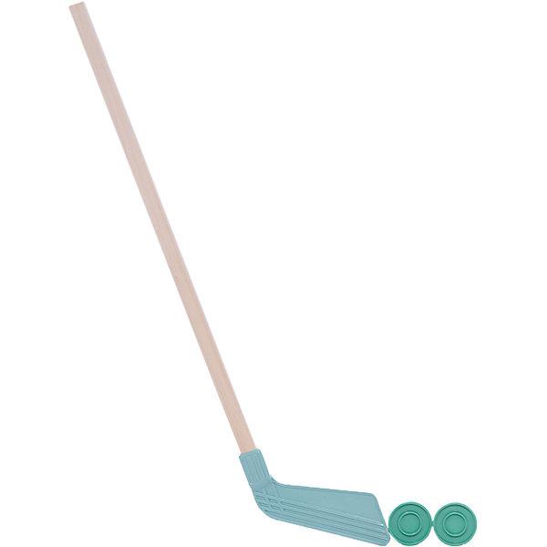 Клюшка детская хоккейная 80 см +2 шайбы КХ-1-55Хоккей и зимний инвентарь<br>Характеристики:<br><br>• возраст: от 3 лет<br>• в наборе: клюшка детская хоккейная (80 см.), шайба 2 шт.<br>• материал клюшки: рукоять - дерево, крюк – пластик<br>• материал шайбы: пластик<br>• упаковка: пакет с европодвесом<br>• вес в упаковке: 200 гр.<br>• цвет в ассортименте<br>• ВНИМАНИЕ! Данный артикул представлен в разных вариантах исполнения. К сожалению, заранее выбрать определенный вариант невозможно. При заказе нескольких наборов возможно получение одинаковых<br><br>Хоккейный набор отлично подойдет для активного отдыха. Удобная клюшка и прочные шайбы изготовлены из качественных материалов, а значит, даже самая напряженная игра продлится долго.<br><br>Набор не предназначен для игры на льду. Рекомендуется использовать его для игровых целей внутри помещения и на открытом воздухе.<br><br>Клюшку детскую хоккейную 80 см +2 шайбы КХ-1-55 можно купить в нашем интернет-магазине.<br>Ширина мм: 20; Глубина мм: 160; Высота мм: 800; Вес г: 200; Возраст от месяцев: 36; Возраст до месяцев: 120; Пол: Унисекс; Возраст: Детский; SKU: 7419963;