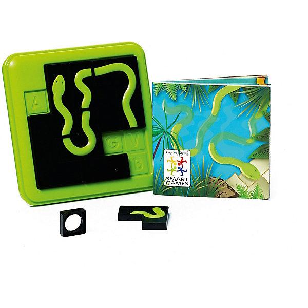 Игра-головоломка Анаконда BondibonГоловоломки - игры<br>Характеристики:<br><br>• возраст: от 7 лет;<br>• материал: пластик;<br>• количество игроков: 1;<br>• 5 уровней сложности;<br>• в наборе: 100 заданий с ответами, игровая доска с отделом для хранения деталей, 8 двусторонних элементов пазла;<br>• вес: 277 гр.;<br>• размер упаковки: 5х16х18 см.<br><br>«Анаконда» от Bondibon — увлекательная головоломка, в которой нужно собрать целое изображение змеи с помощью деталей игры. Задания различаются по уровню сложности. Тот, кто выполнит все до единой задачи получит бесценный опыт для развития логического мышления и внимательности. Набор легко взять собой в дорогу взамен игровым приложениям на планшете или телефоне.<br><br>Игру-головоломку «Анаконда» Bondibon можно купить в нашем интернет-магазине.<br><br>Ширина мм: 50<br>Глубина мм: 160<br>Высота мм: 180<br>Вес г: 277<br>Возраст от месяцев: 84<br>Возраст до месяцев: 2147483647<br>Пол: Унисекс<br>Возраст: Детский<br>SKU: 7419990