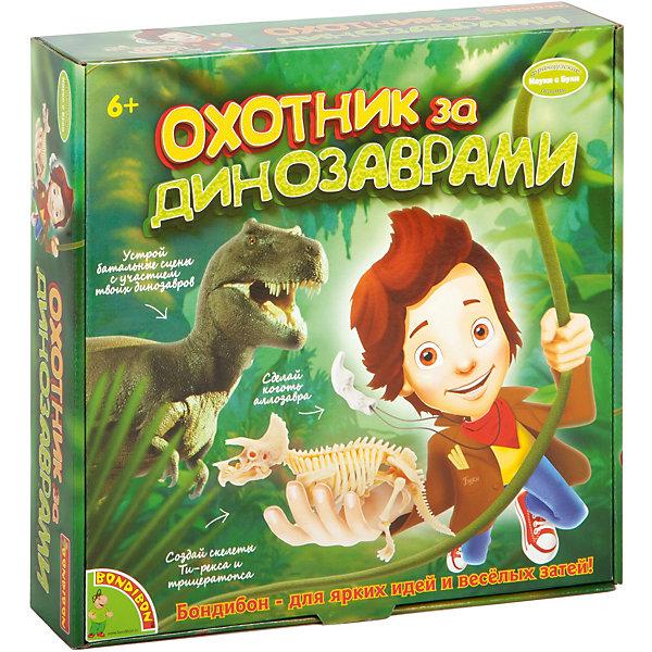 Французские опыты Науки с Буки Охотники за динозаврами BondibonНаборы для раскопок<br>Добро пожаловать в мир динозавров и палеонтологии. Узнай о том, каким образом динозавры и палеонтология связаны с нашей современной жизнью. В сравнении с динозаврами человек не так уж долго живет на земле. Когда-то динозавры были основными обитателями планеты, и казалось, ничего не может это изменить, но потом они исчезли. Почему же это произошло? Могло бы такое произойти вновь? Палеонтологи тщательно изучают все свидетельства и следы на ископаемых с целью воссоздать жизнь динозавров, их поведение, а также понять причины их исчезновения. Давай разбираться вместе!<br><br>Ширина мм: 65<br>Глубина мм: 270<br>Высота мм: 267<br>Вес г: 1050<br>Возраст от месяцев: 72<br>Возраст до месяцев: 2147483647<br>Пол: Унисекс<br>Возраст: Детский<br>SKU: 7420074