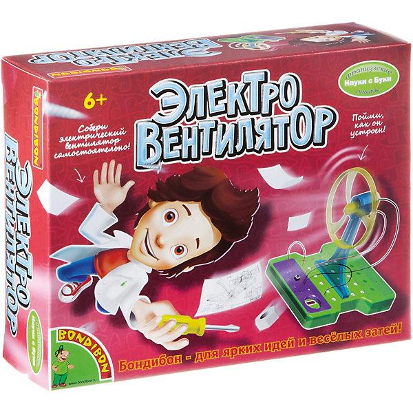 Французские опыты Науки с Буки Электровентилятор BondibonРобототехника и электроника<br>Характеристики:<br><br>• возраст: от 6 лет;<br>• материал: пластик, металл;<br>• в коробке: инструкция, 5 контактных пластин, 2 базы, кнопка, 4 провода, двигатель, вентилятор, держатель вентилятора;<br>• вес: 195 гр.;<br>• размер упаковки: 7х19,4х16 см.<br><br>Юный мастер на все руки оценит сборную модель «Электровентилятор» от Bondibon. С помощью элементов и инструкции можно собрать рабочий прибор. Набор знакомит ребенка с законами физики и механикой, развивает логическое мышление и внимательность. Кроме того, устройство приятно охладит воздух в жаркую погоду.<br><br>Французские опыты Науки с Буки «Электровентилятор» Bondibon можно купить в нашем интернет-магазине.<br>Ширина мм: 70; Глубина мм: 194; Высота мм: 160; Вес г: 195; Возраст от месяцев: 72; Возраст до месяцев: 2147483647; Пол: Унисекс; Возраст: Детский; SKU: 7420082;