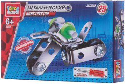Город мастеров Конструктор металлический Мотоцикл .