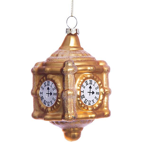 Елочное украшение часы Magic StoryНовинки Новый Год<br>Характеристики:<br><br>• в наборе: 1 шт.;<br>• материал: стекло;<br>• вес упаковки: 92 гр.;<br>• размер упаковки: 12,5х8х18 см.<br><br>Красочное украшение «Часы» Magic Story традиционно выполнено из стекла. Поверхность покрыта насыщенными яркими красками, которые не выцветают со временем. Каждая часть декора тщательно проработана и детализирована. Подвесить игрушку можно с помощью специальной петельки.<br><br>Елочное украшение «Часы» Magic Story можно купить в нашем интернет-магазине.<br>Ширина мм: 125; Глубина мм: 80; Высота мм: 180; Вес г: 92; Возраст от месяцев: 36; Возраст до месяцев: 2147483647; Пол: Унисекс; Возраст: Детский; SKU: 7422412;