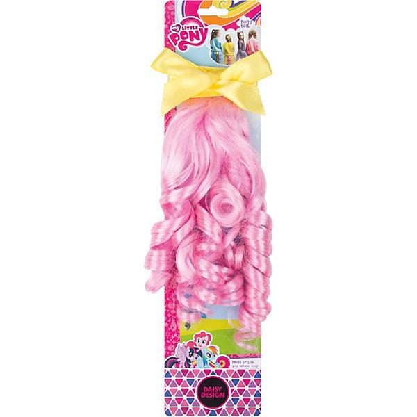 Аксессуар для девочек Хвост Пони. Флаттершай My Little PonyКарнавальные аксессуары для детей<br>Характеристики товара:<br><br>• возраст: от 3 лет;<br>• упаковка: картонная подложка;<br>• размер упаковки: 10х2х3 см.;<br>• комплект: прядь волос, бантик;<br>• цвет: желтый, розовый;<br>• материал: текстиль, пластик;<br>• бренд, страна-обладатель бренда: Daisy Design, Россия;<br>• страна-производитель: Китай.<br><br>Аксессуар для девочек «My Little Pony. Хвост пони - Флаттершай» от компании Daisy Design прекрасно подойдет для маленькой красавицы. Флаттершай из мультфильма My Little Pony своей розовой гривой ярко выделяется в компании других волшебных пони. <br><br>Данный аксессуар для волос имеет желтый бантик и розовые кудри, которые непременно подчеркнет своеобразный стиль девочки-модницы. Изготовлен из безопасных для здоровья ребенка материалов, прошедших соответствие европейским стандартам качества. <br><br>Аксессуар для девочек «My Little Pony. Хвост пони - Флаттершай», Daisy Design  можно купить в нашем интернет-магазине.<br>Ширина мм: 100; Глубина мм: 21; Высота мм: 30; Вес г: 80; Возраст от месяцев: 36; Возраст до месяцев: 2147483647; Пол: Женский; Возраст: Детский; SKU: 7423329;
