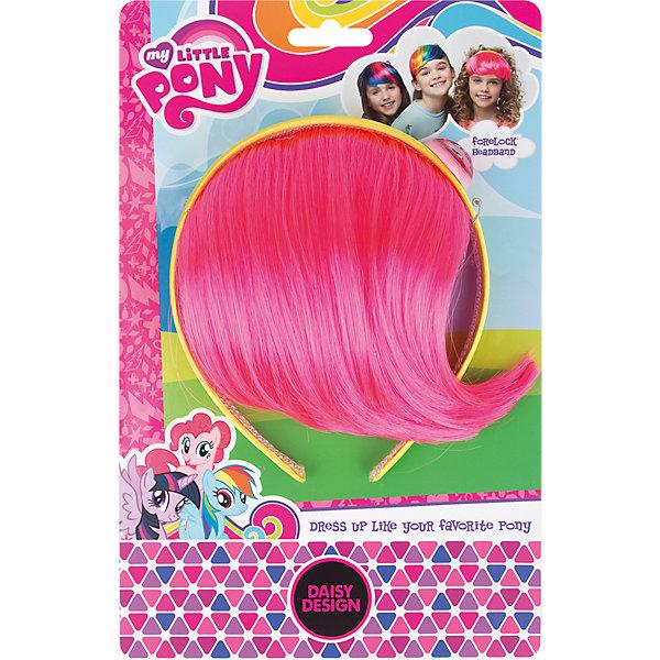 Ободок-челка My Little Pony Пинки ПайДетские шляпы и колпаки<br>Характеристики товара:<br><br>• возраст: от 3 лет;<br>• упаковка: картонная подложка;<br>• размер упаковки: 16х7х3 см.;<br>• комплект: прядь волос, ободок;<br>• цвет: голубой, розовый;<br>• материал: пластик, текстиль;<br>• бренд, страна-обладатель бренда: Daisy Design, Россия;<br>• страна-производитель: Китай.<br><br>Ободок-челка «My Little Pony. Пинки Пай» от компании Daisy Design станет прекрасным дополнением для карнавального костюма, который поможет девочке больше вжиться в роль всегда жизнерадостной маленькой пони из популярного мультсериала My Little Pony.<br><br>Ободок станет оригинальным способом украсить прическу маленькой модницы.Изготовлен из безопасных для здоровья ребенка материалов, прошедших соответствие европейским стандартам качества. <br><br>Ободок-челку «My Little Pony. Пинки Пай», Daisy Design  можно купить в нашем интернет-магазине.<br>Ширина мм: 160; Глубина мм: 58; Высота мм: 30; Вес г: 60; Возраст от месяцев: 36; Возраст до месяцев: 2147483647; Пол: Женский; Возраст: Детский; SKU: 7423332;