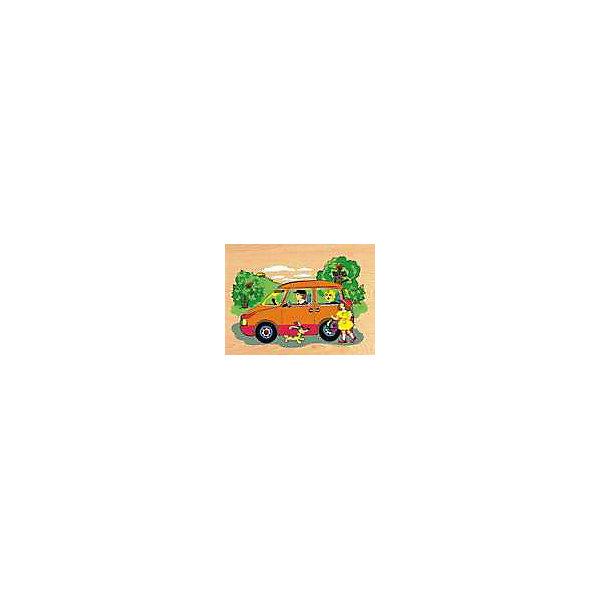 Рамка-пазл Автомобиль  Чудо-ДеревоРамки-вкладыши<br>Характеристики товара:<br><br>• возраст: от 3 лет;<br>• материал: дерево;<br>• в комплекте: рамка, вкладыши;<br>• размер упаковки: 29х21,5х1 см;<br>• вес упаковки: 300 гр.;<br>• страна производитель: Китай.<br><br>Рамка-пазл «Автомобиль» Чудо-дерево представляет собой рамку с вырезанными на ней отверстиями для вкладышей. Чтобы собрать картинку, ребенок должен для каждого отверстия подобрать подходящий по форме вкладыш. Игрушка способствует развитию логического мышления, мелкой моторики рук, зрительного восприятия. Выполнена из качественной натуральной древесины.<br><br>Рамку-пазл «Автомобиль» Чудо-дерево можно приобрести в нашем интернет-магазине.<br>Ширина мм: 290; Глубина мм: 215; Высота мм: 10; Вес г: 300; Возраст от месяцев: 36; Возраст до месяцев: 60; Пол: Унисекс; Возраст: Детский; SKU: 7424880;