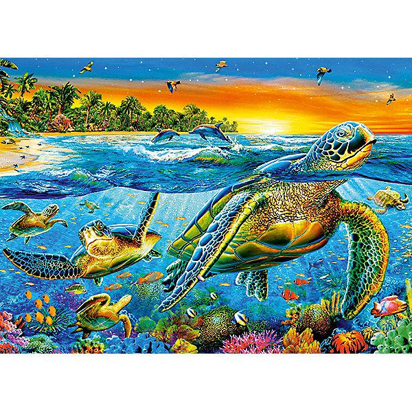 Пазл Морские черепахи, 180 деталей, CastorlandПазлы классические<br>Изображение Морские черепахи. Кол-во деталей 180.<br>Ширина мм: 245; Глубина мм: 175; Высота мм: 37; Вес г: 300; Возраст от месяцев: 84; Возраст до месяцев: 2147483647; Пол: Унисекс; Возраст: Детский; SKU: 7427362;
