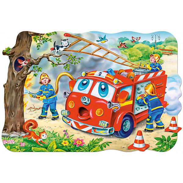 Пазл Пожарная машина, 20 деталей MAXI CastorlandПазлы для малышей<br>Изображение: Пожарная машина. Кол-во деталей 20.<br>Ширина мм: 320; Глубина мм: 220; Высота мм: 47; Вес г: 400; Возраст от месяцев: 36; Возраст до месяцев: 2147483647; Пол: Мужской; Возраст: Детский; SKU: 7427366;