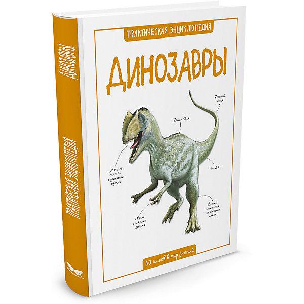 ДинозаврыДетские энциклопедии<br>Характеристики:<br><br>• ISBN: 978-5-389-08858-0<br>• тип игрушки: книга;<br>• возраст: от 11 лет;<br>• вес: 368 гр;<br>• автор: Стив Паркер;<br>• переводчик: Амченков Юрий;<br>• количество страниц: 56 (мелованная);<br>• размер: 25,4х20,1х0,9 см;<br>• материал: бумага;<br>• издательство: Махаон.<br><br>Книга «Динозавры» от издательства Махаон входит в серию «Практическая энциклопедия. 50 шагов в мир знаний». Она станет отличным дополнением к книжной коллекции детей от 11 лет.<br><br>Эта книга рассказывает об очень древних вымерших рептилиях. Благодаря наглядным иллюстрациям и познавательным текстам маленький читатель сможет легко перенестись в парк не только юрского, но еще триасового и мелового периодов.<br>Эта познавательная книга напечатана на качественной бумаге. Иллюстрации очень яркие и красочные. А шрифт всегда разборчивый и четкий, чтобы и у маленьких, и у взрослых читателей не возникало проблем со зрением.<br><br>Книгу «Динозавры» от издательства Махаон можно купить в нашем интернет-магазине.<br>Ширина мм: 252; Глубина мм: 202; Высота мм: 8; Вес г: 352; Возраст от месяцев: 132; Возраст до месяцев: 168; Пол: Унисекс; Возраст: Детский; SKU: 7427531;