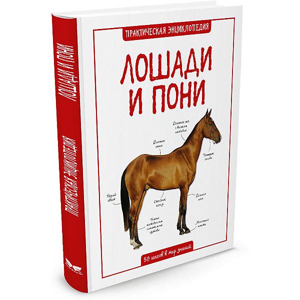 Лошади и пониЭнциклопедии о животных<br>Характеристики:<br><br>• ISBN:978-5-389-08850-4 ;<br>• тип игрушки: книга;<br>• возраст: от 11 лет;<br>• вес: 379 гр;<br>• автор: Камилла де ла Бедуайер;<br>• переводчик: Амченков Юрий;<br>• количество страниц: 56 (мелованная);<br>• размер: 25,4х20,2х0,9 см;<br>• материал: бумага;<br>• издательство: Махаон.<br><br>Книга «Лошади и пони» от издательства Махаон входит в серию «Практическая энциклопедия. 50 шагов в мир знаний» и  станет отличным дополнением в книжной коллекции детей от 11 лет.<br>Эта книга рассказывает о быстроногих скакунах, трудолюбивых тяжеловозах – словом, о разных породах лошадей и пони. Наглядные и красивые иллюстрации и увлекательные тексты помогут ближе узнать этих благородных животных.<br>Книга напечатана на качественной бумаге. Иллюстрации очень яркие и красочные. А шрифт всегда разборчивый и четкий, чтобы и у маленьких, и у взрослых читателей не возникало проблем со зрением.<br>Книгу «Лошади и пони» от издательства Махаон можно купить в нашем интернет-магазине.<br>Ширина мм: 252; Глубина мм: 202; Высота мм: 8; Вес г: 381; Возраст от месяцев: 132; Возраст до месяцев: 168; Пол: Унисекс; Возраст: Детский; SKU: 7427641;
