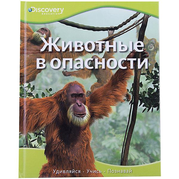 Животные в опасностиДетские энциклопедии<br>Характеристики:<br><br>• ISBN: 978-5-389-08595-4;<br>• тип игрушки: книга;<br>• возраст: от 3 лет;<br>• вес: 310 гр;<br>• переводчик: Михеев А.;<br>• редактор: Красновская О.;<br>• количество страниц: 32 (мелованная);<br>• размер: 25,3х20,1х0,8 см;<br>• материал: бумага;<br>• издательство: Махаон.<br><br>Книга «Животные в опасности» от издательства Махаон входит в серию «Discovery Education» и станет отличным дополнением в книжной коллекции детей от трех лет.<br>Эта уникальная серия создана в сотрудничестве с компанией «Дискавери», занимающейся распространением научно-популярных знаний по всему миру. Серия состоит из четырех больших разделов: «Наука и техника», «Биология», «История» и «Общество». В каждом разделе представлен широкий круг тем, полезных для интеллектуального развития и познания окружающего мира. Эта книга подарит увлекательное чтение, огромный объем разнообразной информации, возможность развить сообразительность и творческие способности. <br>Книга напечатана на качественной бумаге. Иллюстрации очень яркие и красочные. А шрифт всегда разборчивый и четкий, чтобы и у маленьких, и у взрослых читателей не возникало проблем со зрением.<br>Книгу «Животные в опасности» от издательства Махаон можно купить в нашем интернет-магазине.<br><br>Ширина мм: 252<br>Глубина мм: 202<br>Высота мм: 8<br>Вес г: 338<br>Возраст от месяцев: 84<br>Возраст до месяцев: 120<br>Пол: Унисекс<br>Возраст: Детский<br>SKU: 7427667