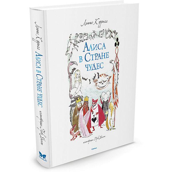 Алиса в Стране чудесКэррол Л.<br>Характеристики:<br><br>• ISBN: 978-5-389-09092-7;<br>• тип игрушки: книга;<br>• возраст: от 7 лет;<br>• вес: 606 гр;<br>• автор:  Кэрролл Льюис;<br>•  художник: Ингпен Роберт;<br>• количество страниц: 192 (офсет);<br>• размер: 20,5х25х1,9 см;<br>• материал: бумага;<br>• издательство: Махаон.<br>Книга «Алиса в Стране чудес»  - прошло почти полтора века со времени первой публикации этой знаменитой книги, а она до сих пор завоёвывает сердца детей и взрослых всех стран. Перед вами новое уникальное издание, главными достоинствами которого являются полный, несокращённый текст и более 70 прекрасных иллюстраций именитого художника. Для среднего школьного возраста.<br><br>Книгу «Алиса в Стране чудес» от издательства Махаон можно купить в нашем интернет-магазине.<br><br>Ширина мм: 242<br>Глубина мм: 201<br>Высота мм: 13<br>Вес г: 465<br>Возраст от месяцев: 132<br>Возраст до месяцев: 168<br>Пол: Унисекс<br>Возраст: Детский<br>SKU: 7427693