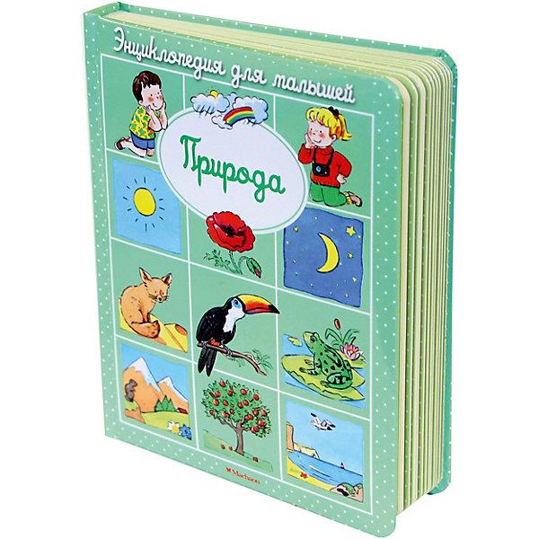 ПриродаДетские энциклопедии<br>Характеристики:<br><br>• ISBN: 978-5-389-09328-7;<br>• тип игрушки: книга;<br>• возраст: от 1 года;<br>• вес: 492 гр; <br>• автор: Бомон Эмили;<br>•  художник: Мишле Сильви;<br>• количество страниц: 30 (картон);<br>• размер: 20х17х12,2 см;<br>• материал: бумага;<br>• издательство: Махаон.<br>Книга «Энциклопедия для малышей. Природа» - это книжка  с картонными страничками, закругленными углами, пухлой обложкой и привлекательными рисунками. Эта книжка из серии энциклопедий для самых маленьких поможет детям познакомиться с окружающим миром. Малыши узнают, какие растения и каких животных можно увидеть в лесу.<br><br>Серия «Энциклопедия для малышей» - это замечательные книжки-малышки с чудесными иллюстрациями, которые расскажут маленьким читателям об окружающем их мире. Яркие и понятные картинки сопровождаются доступным и информативным текстом. Семь тем: наше тело, город, история, природа, животные, земля, космос темы, позволят расширить кругозор малыша и помогут родителям ответить на все вопросы любознательных почемучек. Развивающие задания и загадки не дадут малышу заскучать.<br><br>Книгу «Энциклопедия для малышей. Природа» от издательства Махаон можно купить в нашем интернет-магазине.<br>Ширина мм: 202; Глубина мм: 167; Высота мм: 22; Вес г: 519; Возраст от месяцев: 12; Возраст до месяцев: 36; Пол: Унисекс; Возраст: Детский; SKU: 7427707;