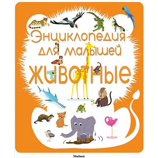 Энциклопедия для малышей. ЖивотныеДетские энциклопедии<br>Характеристики:<br><br>• ISBN: 978-5-389-08582-4;<br>• тип игрушки: книга;<br>• возраст: от 1 года;<br>• вес: 492 гр;<br>• автор:  Бомон Эмили;<br>• художник: Мишле Сильви;<br>• количество страниц: 30 (картон);<br>• размер: 20х17х2,2 см;<br>• материал: бумага;<br>• издательство: Махаон.<br><br>Книга Махаон «Энциклопедия для малышей. Животные» - это картонные странички, закругленные углы, пухлые обложки, привлекательные рисунки. Эта книжка из серии энциклопедий для самых маленьких поможет детям познакомиться с окружающим миром. Малыши узнают, какие растения и каких животных можно увидеть в лесу.<br><br>Серия «Энциклопедия для малышей» - это замечательные книжки-малышки с чудесными иллюстрациями, которые расскажут маленьким читателям об окружающем их мире. Яркие и понятные картинки сопровождаются доступным и информативным текстом. Семь тем: наше тело, город, история, природа, животные, земля, космос темы, позволят расширить кругозор малыша и помогут родителям ответить на все вопросы  любознательных почемучек. Развивающие задания и загадки не дадут малышу заскучать.<br><br>Книгу «Энциклопедия для малышей. Животные» от издательства Махаон можно купить в нашем интернет-магазине.<br>Ширина мм: 430; Глубина мм: 251; Высота мм: 14; Вес г: 926; Возраст от месяцев: 12; Возраст до месяцев: 36; Пол: Унисекс; Возраст: Детский; SKU: 7427836;