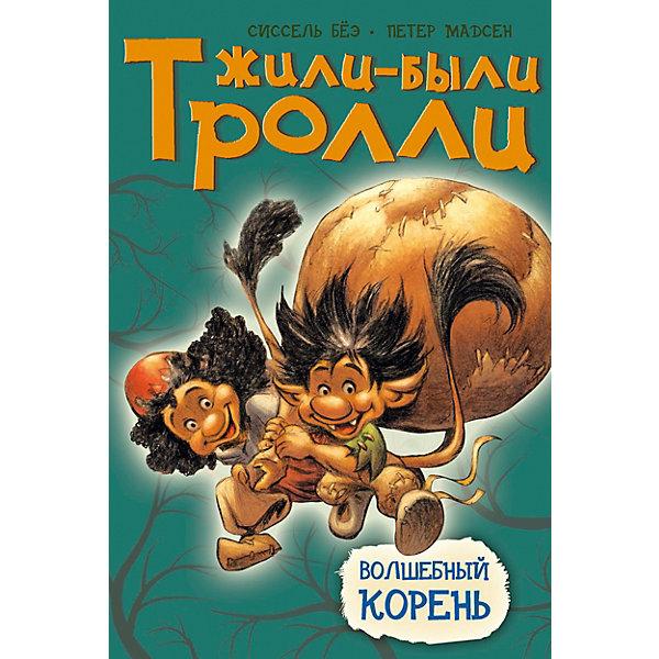Волшебный кореньРассказы и повести<br>Характеристики:<br><br>• ISBN: 978-5-389-07160-5;<br>• тип игрушки: книга;<br>• возраст: от 1 года;<br>• вес: 188 гр;<br>• автор: Бёэ Сиссель;<br>• художник: Мадсен Петер;<br>• количество страниц: 40 (офсет);<br>• размер: 24,2x17,1x0,8 см;<br>• материал: бумага;<br>• издательство: Махаон.<br><br>Книга «Волшебный корень» от издательства Махаон из серии «Жили-были тролли» станет отличным дополнением в книжной коллекции детей от одного года.<br>У старого папаши Врисила сегодня день рождения. Пайя и Пайко весь день собирали в лесу разные вещицы, из которых можно было бы смастерить подарок. Они очень старались, чтобы подарок вышел большой и красивый! Но всё получилось не совсем так, как они задумали… а даже ещё лучше.<br>Книга напечатана на качественной бумаге. Иллюстрации очень яркие и красочные. А шрифт всегда разборчивый и четкий, чтобы и у маленьких, и у взрослых читателей не возникало проблем со зрением.<br>Книгу «Волшебный корень» от издательства Махаон можно купить в нашем интернет-магазине.<br>Ширина мм: 242; Глубина мм: 171; Высота мм: 7; Вес г: 206; Возраст от месяцев: 12; Возраст до месяцев: 36; Пол: Унисекс; Возраст: Детский; SKU: 7427919;