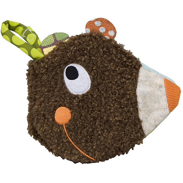 Развивающая книжка Расти с Мишкой EbuloboПервые книги малыша<br>Характеристики:<br><br>• возраст: от 9 месяцев;<br>• материал: полиэстер, хлопок;<br>• вес: 100 гр.;<br>• размер: 15х15 см;<br>• страна бренда: Франция.<br><br>«Расти с Мишкой» Ebulobo — это и книжка из картинок, и игрушка сразу. Она поможет малышу научиться различать цвета, формы, разные материалы и звуки. Мордочка медведя и есть обложка книги. Мягкие страницы приятно шуршат, когда их трогаешь. Внутри есть другие занимательные элементы для интерактивной игры.<br><br>Игрушка приятна на ощупь и обладает интересным дизайном, выполнена из качественных материалов, все швы надежно прошиты, поэтому она будет оставаться любимицей ребенка не один год.<br><br>Развивающую книжку «Расти с Мишкой» Ebulobo можно купить в нашем интернет-магазине.<br><br>Ширина мм: 560<br>Глубина мм: 300<br>Высота мм: 280<br>Вес г: 100<br>Возраст от месяцев: 9<br>Возраст до месяцев: 36<br>Пол: Унисекс<br>Возраст: Детский<br>SKU: 7428428