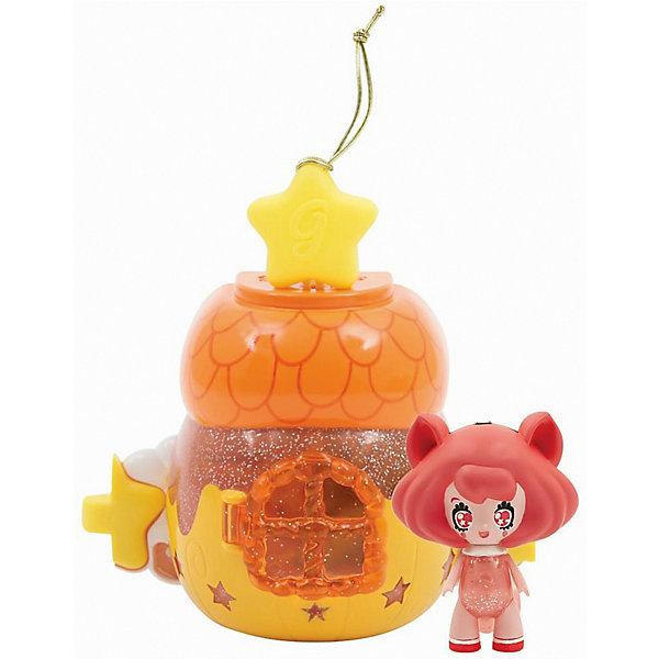 Домик Глимхаус Glimmies с AlmendraДомики для кукол<br>Характеристики товара:<br><br>• возраст: от 3 лет;<br>• материал: пластик;<br>• в комплекте: кукла, домик;<br>• тип батареек: 3 батарейки V384;<br>• наличие батареек: в комплекте;<br>• высота куклы: 6 см;<br>• размер упаковки: 20х14х8 см;<br>• вес упаковки: 217 гр.;<br>• страна изготовитель: Китай.<br><br>Домик Глимхаус Glimmies с Almendra — разноцветный домик, в котором живет очаровательная фея Glimmies. Куклы Glimmies — забавные лесные существа, которые обладают магическими силами. Куколка светится в темноте. При недостатке освещения, она загорается автоматически. <br><br>Если поместить фею в домик и оставить на ночь, то получится настоящий ночник для ребенка. Чтобы поместить игрушку внутрь, в домике предусмотрена открывающаяся дверца с окошком. Кроме этого, по бокам домика имеются крепления, позволяющие собрать сразу несколько домиков в оригинальную светящуюся гирлянду. Игрушка выполнена из качественного безопасного пластика.<br><br>Домик Глимхаус Glimmies с Almendra можно приобрести в нашем интернет-магазине.<br>Ширина мм: 200; Глубина мм: 150; Высота мм: 390; Вес г: 166; Возраст от месяцев: 36; Возраст до месяцев: 2147483647; Пол: Женский; Возраст: Детский; SKU: 7428758;
