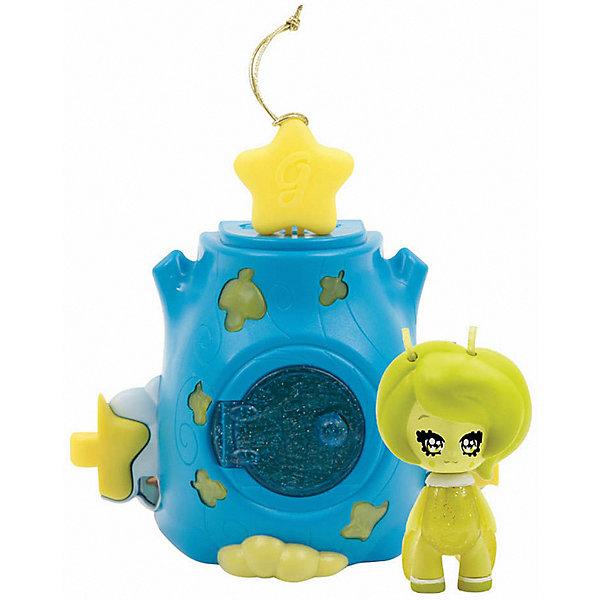Домик Глимхаус Glimmies с AstreaДомики для кукол<br>Характеристики товара:<br><br>• возраст: от 3 лет;<br>• материал: пластик;<br>• в комплекте: кукла, домик;<br>• тип батареек: 3 батарейки V384;<br>• наличие батареек: в комплекте;<br>• высота куклы: 6 см;<br>• размер упаковки: 20х14х8 см;<br>• вес упаковки: 217 гр.;<br>• страна изготовитель: Китай.<br><br>Домик Глимхаус Glimmies с Astrea — разноцветный домик, в котором живет очаровательная фея Glimmies. Куклы Glimmies — забавные лесные существа, которые обладают магическими силами. Куколка светится в темноте. При недостатке освещения, она загорается автоматически. <br><br>Если поместить фею в домик и оставить на ночь, то получится настоящий ночник для ребенка. Чтобы поместить игрушку внутрь, в домике предусмотрена открывающаяся дверца с окошком. Кроме этого, по бокам домика имеются крепления, позволяющие собрать сразу несколько домиков в оригинальную светящуюся гирлянду. Игрушка выполнена из качественного безопасного пластика.<br><br>Домик Глимхаус Glimmies с Astrea можно приобрести в нашем интернет-магазине.<br>Ширина мм: 150; Глубина мм: 150; Высота мм: 390; Вес г: 166; Возраст от месяцев: 36; Возраст до месяцев: 2147483647; Пол: Женский; Возраст: Детский; SKU: 7428760;
