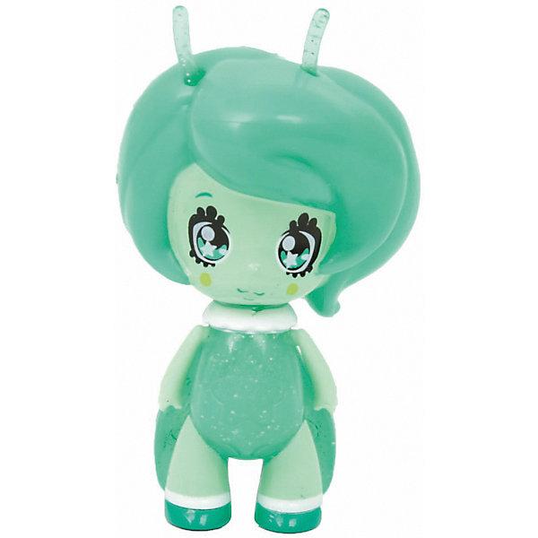Одна кукла Glimmies Nova в блистереКуклы<br>Характеристики товара:<br><br>• возраст: от 3 лет;<br>• материал: резина, пластик;<br>• в комплекте: кукла, мини-каталог;<br>• тип батареек: 3 батарейки LR41;<br>• наличие батареек: в комплекте;<br>• высота куклы: 6 см;<br>• размер упаковки: 14х10х5 см;<br>• вес упаковки: 73 гр.;<br>• страна изготовитель: Китай.<br><br>Кукла Glimmies «Nova» в блистере - замечательная фея с милым личиком и большими глазками. Куклы Glimmies — забавные лесные существа, которые обладают магическими силами. Кукла светится в темноте. Если оставить ее в темной комнате, то при недостатке света, она автоматически загорится. У куклы подвижные ручки и ножки, выполненные из резины. Сама кукла выполнена из качественного безопасного пластика.<br><br>Куклу Glimmies «Nova» в блистере можно приобрести в нашем интернет-магазине.<br>Ширина мм: 39; Глубина мм: 50; Высота мм: 62; Вес г: 40; Возраст от месяцев: 36; Возраст до месяцев: 2147483647; Пол: Женский; Возраст: Детский; SKU: 7428773;