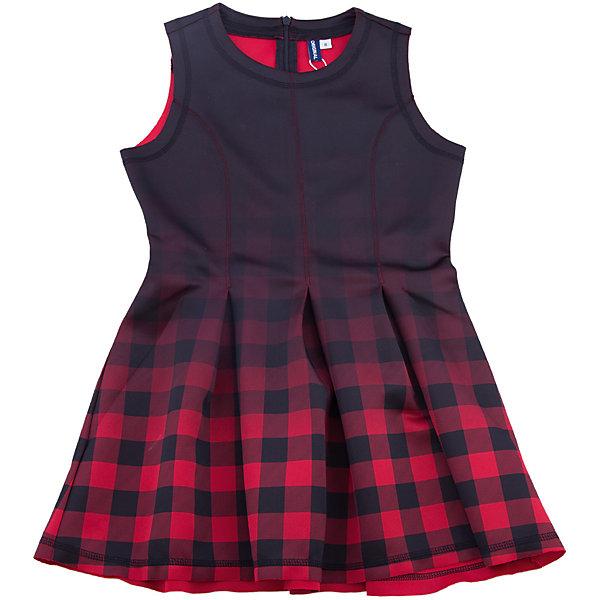 Платье Original Marines для девочкиПлатья и сарафаны<br>Характеристики товара:<br><br>• цвет: красный<br>• состав ткани: 95% полиэстер 5% эластан<br>• сезон: демисезон<br>• особенности модели: школьная<br>• застежка: молния<br>• без рукавов<br>• страна бренда: Италия<br>• страна изготовитель: Бангладеш<br><br>Стильное клетчатое платье для девочки позволит выглядеть аккуратно и модно. Приталенный силуэт детского платья позволяет подчеркнуть фигуру. Платье для ребенка сделано из качественного материала. Детская одежда от итальянского бренда Original Marines обеспечит ребенку комфорт.<br><br>Платье Original Marines (Ориджинал Маринс) для девочки можно купить в нашем интернет-магазине.<br>Ширина мм: 236; Глубина мм: 16; Высота мм: 184; Вес г: 177; Цвет: красный; Возраст от месяцев: 96; Возраст до месяцев: 108; Пол: Женский; Возраст: Детский; Размер: 128/134,152/158,140/146; SKU: 7428821;