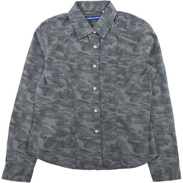 Рубашка Original Marines для девочкиБлузки и рубашки<br>Характеристики товара:<br><br>• цвет: хаки<br>• состав ткани: 100% хлопок<br>• сезон: демисезон<br>• застежка: кнопки<br>• длинные рукава<br>• страна бренда: Италия<br>• комфорт и качество<br><br>Стильная рубашка для ребенка дополнена отложным воротником. Детская рубашка выглядит оригинально и модно. Рубашка для ребенка сделана из качественного материала. Детская одежда от итальянского бренда Original Marines обеспечит ребенку комфорт.<br><br>Рубашку Original Marines (Ориджинал Маринс) для девочки можно купить в нашем интернет-магазине.<br>Ширина мм: 174; Глубина мм: 10; Высота мм: 169; Вес г: 157; Цвет: зеленый; Возраст от месяцев: 96; Возраст до месяцев: 108; Пол: Женский; Возраст: Детский; Размер: 128/134,152/158,140/146; SKU: 7428829;
