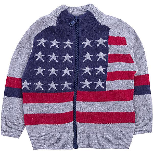 Купить Кардиган Original Marines для мальчика, Китай, серый, 68/74, 86/92, 80/86, Мужской