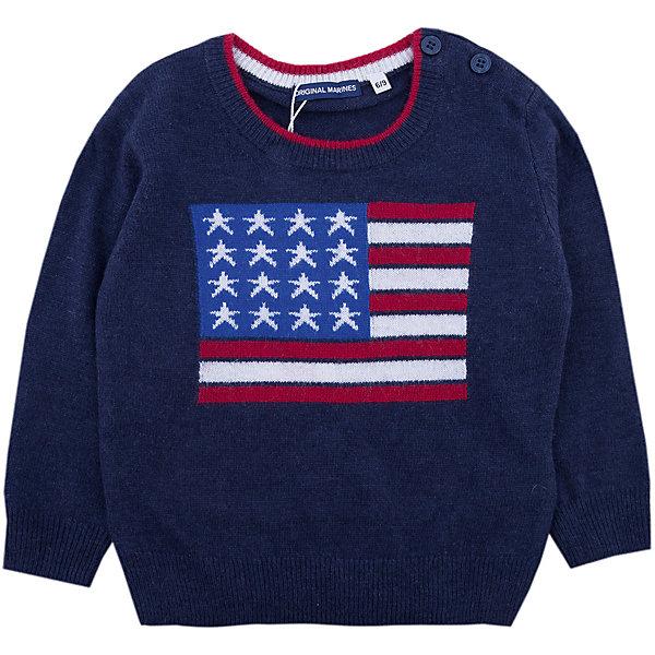 Купить Свитер Original Marines для мальчика, Китай, синий, 68/74, 86/92, 80/86, Мужской
