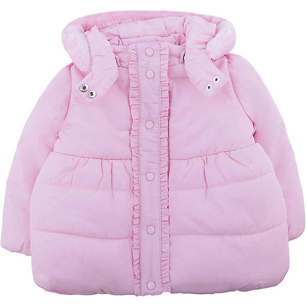 Куртка Original Marines для девочкиВерхняя одежда<br>Характеристики товара:<br><br>• цвет: розовый<br>• состав ткани: 100% полиэстер<br>• подкладка: 100% полиуретан<br>• утеплитель: 100% полиэстер<br>• сезон: демисезон<br>• температурный режим: от 0 до +15 <br>• особенности модели: с капюшоном<br>• застежка: молния<br>• страна бренда: Италия<br>• страна изготовитель: Вьетнам<br><br>Эта куртка для ребенка дополнена удобным капюшоном. Детская куртка имеет планку от ветра. Куртка для ребенка сделана из качественного материала. Детская одежда от итальянского бренда Original Marines обеспечит ребенку комфорт.<br><br>Куртку Original Marines (Ориджинал Маринс) для девочки можно купить в нашем интернет-магазине.<br>Ширина мм: 356; Глубина мм: 10; Высота мм: 245; Вес г: 519; Цвет: розовый; Возраст от месяцев: 6; Возраст до месяцев: 9; Пол: Женский; Возраст: Детский; Размер: 68/74,86/92,80/86; SKU: 7429040;