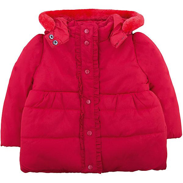 Куртка Original Marines для девочкиВерхняя одежда<br>Характеристики товара:<br><br>• цвет: красный<br>• состав ткани: 100% полиэстер<br>• подкладка: 100% полиуретан<br>• утеплитель: 100% полиэстер<br>• сезон: демисезон<br>• температурный режим: от 0 до +15 <br>• особенности модели: с капюшоном<br>• застежка: молния<br>• страна бренда: Италия<br>• страна изготовитель: Вьетнам<br><br>Такая детская куртка легко надевается благодаря молнии. Куртка для ребенка стильно смотрится. Детская куртка создает комфортные условия и удобно сидит по фигуре. Детские товары от бренда Original Marines давно завоевали любовь потребителей благодаря высокому качеству и стильному дизайну.<br><br>Куртку Original Marines (Ориджинал Маринс) для девочки можно купить в нашем интернет-магазине.<br>Ширина мм: 356; Глубина мм: 10; Высота мм: 245; Вес г: 519; Цвет: красный; Возраст от месяцев: 12; Возраст до месяцев: 18; Пол: Женский; Возраст: Детский; Размер: 86/92,68/74,80/86; SKU: 7429044;