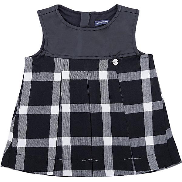 Платье Original Marines для девочкиПлатья<br>Характеристики товара:<br><br>• цвет: черный<br>• состав ткани: 66% вискоза, 32% полиэстер, 2% эластан<br>• сезон: демисезон<br>• застежка: молния<br>• длинные рукава<br>• страна бренда: Италия<br>• страна изготовитель: Китай<br><br>Стильное платье для девочки позволит выглядеть аккуратно и модно. Сзади у детского платья - молния. Платье для ребенка сделано из качественного материала. Детская одежда от итальянского бренда Original Marines обеспечит ребенку комфорт.<br><br>Платье Original Marines (Ориджинал Маринс) для девочки можно купить в нашем интернет-магазине.<br>Ширина мм: 236; Глубина мм: 16; Высота мм: 184; Вес г: 177; Цвет: черный; Возраст от месяцев: 12; Возраст до месяцев: 18; Пол: Женский; Возраст: Детский; Размер: 86/92,68/74,80/86; SKU: 7429072;