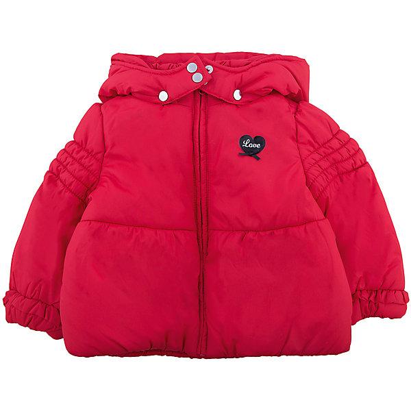 Куртка Original Marines для девочкиВерхняя одежда<br>Характеристики товара:<br><br>• цвет: красный<br>• состав ткани: 100% полиэстер<br>• подкладка: 100% полиуретан<br>• сезон: демисезон<br>• температурный режим: от +5 до +15 <br>• особенности модели: с капюшоном<br>• застежка: молния<br>• страна бренда: Италия<br>• страна изготовитель: Вьетнам<br><br>Такая детская куртка легко надевается благодаря молнии. Куртка для ребенка стильно смотрится. Детская куртка создает комфортные условия и удобно сидит по фигуре. Детские товары от бренда Original Marines давно завоевали любовь потребителей благодаря высокому качеству и стильному дизайну.<br><br>Куртку Original Marines (Ориджинал Маринс) для девочки можно купить в нашем интернет-магазине.<br>Ширина мм: 356; Глубина мм: 10; Высота мм: 245; Вес г: 519; Цвет: красный; Возраст от месяцев: 6; Возраст до месяцев: 9; Пол: Женский; Возраст: Детский; Размер: 86/92,68/74,152/158; SKU: 7429080;