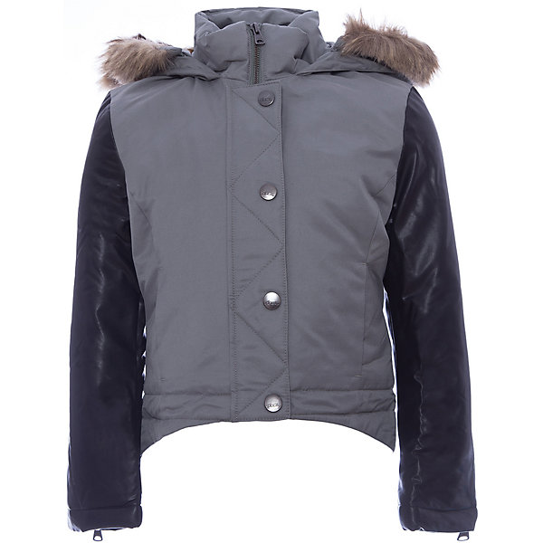 Куртка Original Marines для девочкиВерхняя одежда<br>Характеристики товара:<br><br>• цвет: серый<br>• состав ткани: 74% полиэстер, 26% хлопок <br>• подкладка: 100% полиуретан<br>• утеплитель: 100% полиэстер<br>• сезон: демисезон<br>• температурный режим: от 0 до +15 <br>• особенности модели: с капюшоном<br>• застежка: молния<br>• страна бренда: Италия<br>• страна изготовитель: Вьетнам<br><br>Эта куртка для ребенка дополнена удобным капюшоном. Детская куртка имеет планку от ветра. Куртка для ребенка сделана из качественного материала. Детская одежда от итальянского бренда Original Marines обеспечит ребенку комфорт.<br><br>Куртку Original Marines (Ориджинал Маринс) для девочки можно купить в нашем интернет-магазине.<br>Ширина мм: 356; Глубина мм: 10; Высота мм: 245; Вес г: 519; Цвет: серый; Возраст от месяцев: 120; Возраст до месяцев: 132; Пол: Женский; Возраст: Детский; Размер: 152/158,128/134,140/146; SKU: 7429211;