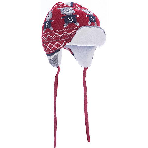 Шапка Original Marines для мальчикаШапочки<br>Характеристики товара:<br><br>• цвет: красный<br>• состав ткани: 100% акрил<br>• подкладка: 100% полиэстер<br>• сезон: демисезон<br>• застежка: завязки<br>• страна бренда: Италия<br>• страна изготовитель: Китай<br><br>Теплая детская шапка легко надевается благодаря наличию завязок. Шапка для ребенка украшена оригинальным орнаментом. Такая детская шапка создает комфортные условия и удобно сидит на голове. Детские товары от бренда Original Marines давно завоевали любовь потребителей благодаря высокому качеству и стильному дизайну. <br><br>Шапку Original Marines (Ориджинал Маринс) для мальчика можно купить в нашем интернет-магазине.<br>Ширина мм: 89; Глубина мм: 117; Высота мм: 44; Вес г: 155; Цвет: красный; Возраст от месяцев: 12; Возраст до месяцев: 18; Пол: Мужской; Возраст: Детский; Размер: 46-48,42-44; SKU: 7429269;