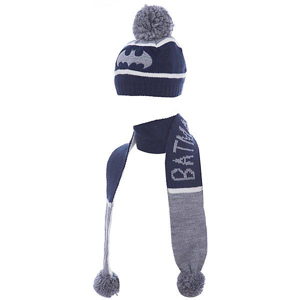 Комплект: шапка и шарф Original Marines для мальчикаКомплекты<br>Характеристики товара:<br><br>• цвет: синий<br>• комплектация: шарф, шапка<br>• состав ткани: 100% акрил<br>• сезон: демисезон<br>• страна бренда: Италия<br>• страна изготовитель: Китай<br><br>Комплект для ребенка сделан из качественного материала. Детская одежда от итальянского бренда Original Marines обеспечит ребенку комфорт. Такой детский комплект состоит из шапки и шарфа. Демисезонный комплект украшен оригинальным вязаным рисунком.<br><br>Комплект: шапка и шарф Original Marines (Ориджинал Маринс) для мальчика можно купить в нашем интернет-магазине.<br><br>Ширина мм: 89<br>Глубина мм: 117<br>Высота мм: 44<br>Вес г: 155<br>Цвет: синий<br>Возраст от месяцев: 12<br>Возраст до месяцев: 18<br>Пол: Мужской<br>Возраст: Детский<br>Размер: 46-48,42-44<br>SKU: 7429275