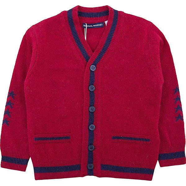 Купить Кардиган Original Marines для мальчика, Китай, красный, 68/74, 86/92, 80/86, Мужской