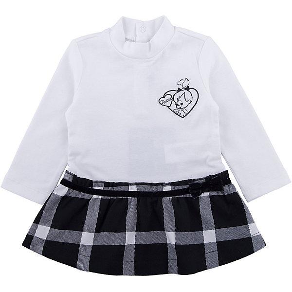 Платье Original Marines для девочкиПлатья<br>Характеристики товара:<br><br>• цвет: белый<br>• состав ткани: 95% хлопок, 5% эластан<br>• сезон: демисезон<br>• застежка: кнопки<br>• длинные рукава<br>• страна бренда: Италия<br>• страна изготовитель: Бангладеш<br><br>Стильное платье для девочки позволит выглядеть аккуратно и модно. Сзади у детского платья - кнопки. Платье для ребенка сделано из качественного материала. Детская одежда от итальянского бренда Original Marines обеспечит ребенку комфорт.<br><br>Платье Original Marines (Ориджинал Маринс) для девочки можно купить в нашем интернет-магазине.<br>Ширина мм: 236; Глубина мм: 16; Высота мм: 184; Вес г: 177; Цвет: белый; Возраст от месяцев: 12; Возраст до месяцев: 18; Пол: Женский; Возраст: Детский; Размер: 86/92,68/74,80/86; SKU: 7429392;
