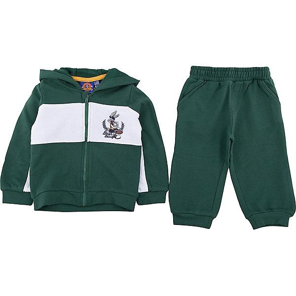 Спортивный костюм Original Marines для мальчикаКомплекты<br>Характеристики товара:<br><br>• цвет: зеленый<br>• комплектация: толстовка, брюки<br>• состав ткани: 100% хлопок<br>• сезон: демисезон<br>• особенности модели: спортивный стиль<br>• застежка: молния<br>• пояс: резинка, шнурок<br>• длинные рукава<br>• страна бренда: Италия<br>• комфорт и качество<br><br>Такой детский спортивный костюм легко надевается. Брюки от спортивного костюма для ребенка не давят на живот - в них мягкая резинка. Детский спортивный костюм создает комфортные условия и удобно сидит по фигуре. Детские товары от бренда Original Marines давно завоевали любовь потребителей благодаря высокому качеству и стильному дизайну. <br><br>Спортивный костюм Original Marines (Ориджинал Маринс) для мальчика можно купить в нашем интернет-магазине.<br>Ширина мм: 247; Глубина мм: 16; Высота мм: 140; Вес г: 225; Цвет: зеленый; Возраст от месяцев: 6; Возраст до месяцев: 9; Пол: Мужской; Возраст: Детский; Размер: 68/74,86/92,80/86; SKU: 7429524;