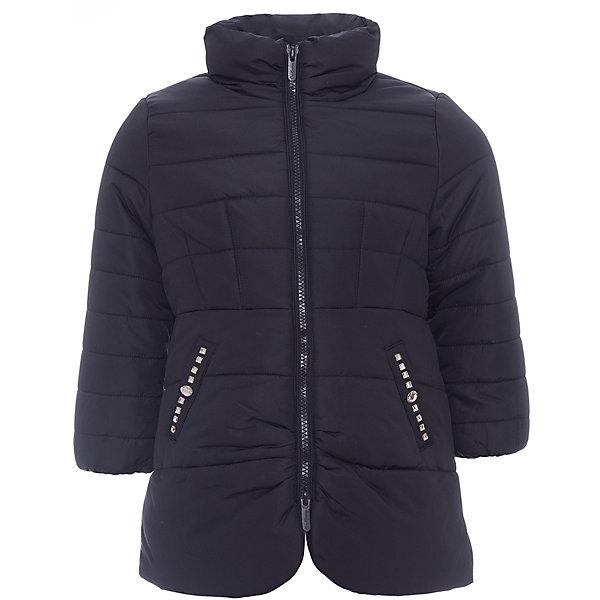 Куртка Original Marines для девочкиВерхняя одежда<br>Характеристики товара:<br><br>• цвет: черный<br>• состав ткани: 100% полиуретан<br>• подкладка: 100% полиэстер<br>• утеплитель: 100% полиэстер<br>• сезон: демисезон<br>• температурный режим: от +5 до +15 <br>• застежка: молния<br>• стразы<br>• страна бренда: Италия<br>• страна изготовитель: Вьетнам<br><br>Стильная куртка для ребенка дополнена удобными карманами. Детская куртка декорирована стразами. Куртка для ребенка сделана из качественного материала. Детская одежда от итальянского бренда Original Marines обеспечит ребенку комфорт.<br><br>Куртку Original Marines (Ориджинал Маринс) для девочки можно купить в нашем интернет-магазине.<br>Ширина мм: 356; Глубина мм: 10; Высота мм: 245; Вес г: 519; Цвет: черный; Возраст от месяцев: 72; Возраст до месяцев: 84; Пол: Женский; Возраст: Детский; Размер: 116/122,92/98,104/110; SKU: 7429612;