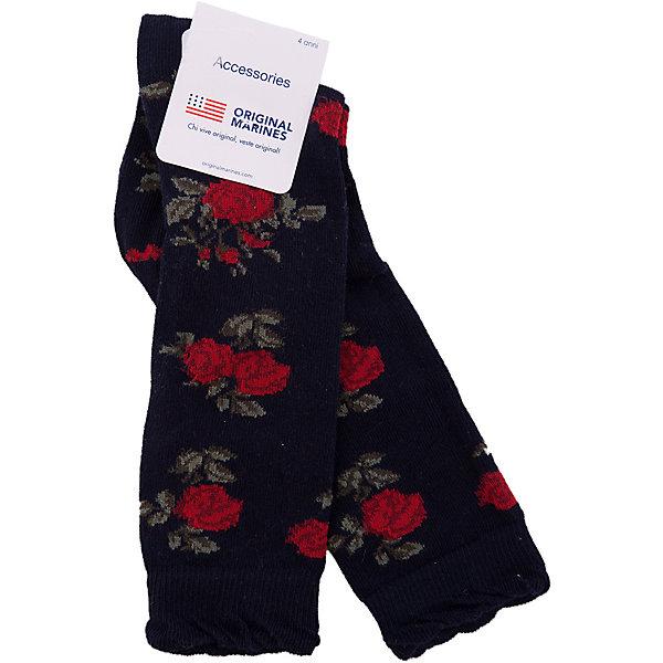 Носки Original Marines для девочкиНоски<br>Характеристики товара:<br><br>• цвет: черный<br>• состав ткани: 75% хлопок, 22% полиамид, 3% эластан<br>• сезон: весь год<br>• страна бренда: Италия<br>• страна изготовитель: Турция<br><br>Оригинальные детские носки легко надеваются благодаря эластичному материалу. Носки для ребенка не давят на ногу - в них мягкая резинка. Такие детские носки создают комфортные условия и удобно сидят. Детские товары от бренда Original Marines давно завоевали любовь потребителей благодаря высокому качеству и стильному дизайну. <br><br>Носки Original Marines (Ориджинал Маринс) для девочки можно купить в нашем интернет-магазине.<br>Ширина мм: 87; Глубина мм: 10; Высота мм: 105; Вес г: 115; Цвет: черный; Возраст от месяцев: 48; Возраст до месяцев: 60; Пол: Женский; Возраст: Детский; Размер: 27-29,25/26; SKU: 7429644;