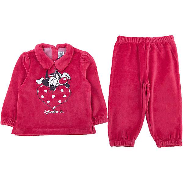 Пижама Original Marines для девочкиПижамы<br>Характеристики товара:<br><br>• цвет: красный<br>• комплектация: лонгслив, брюки<br>• состав ткани: 80% хлопок, 20% полиэстер<br>• сезон: круглый год<br>• застежка: кнопки<br>• пояс: резинка<br>• длинные рукава<br>• страна бренда: Италия<br>• страна изготовитель: Бангладеш<br><br>Хлопковая детская пижама легко надевается благодаря кнопкам на спине. Брюки от пижамы для ребенка не давят на живот - в них мягкая резинка. Такая детская пижама создает комфортные условия и удобно сидит по фигуре. Детские товары от бренда Original Marines давно завоевали любовь потребителей благодаря высокому качеству и стильному дизайну. <br><br>Пижаму Original Marines (Ориджинал Маринс) для девочки можно купить в нашем интернет-магазине.<br>Ширина мм: 281; Глубина мм: 70; Высота мм: 188; Вес г: 295; Цвет: красный; Возраст от месяцев: 6; Возраст до месяцев: 9; Пол: Женский; Возраст: Детский; Размер: 68/74,86/92,80/86; SKU: 7429699;