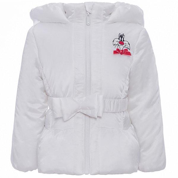 Куртка Original Marines для девочкиВерхняя одежда<br>Характеристики товара:<br><br>• цвет: белый<br>• состав ткани: 100% полиуретан<br>• подкладка: 100% полиамид<br>• утеплитель: 100% полиэстер<br>• сезон: демисезон<br>• особенности модели: с капюшоном<br>• температурный режим: от +5 до +15 <br>• застежка: молния<br>• страна бренда: Италия<br>• страна изготовитель: Китай<br><br>Белая куртка для ребенка дополнена удобным капюшоном. Детская куртка имеет красивую аппликацию на планке. Куртка для ребенка сделана из качественного материала. Детская одежда от итальянского бренда Original Marines обеспечит ребенку комфорт.<br><br>Куртку Original Marines (Ориджинал Маринс) для девочки можно купить в нашем интернет-магазине.<br>Ширина мм: 356; Глубина мм: 10; Высота мм: 245; Вес г: 519; Цвет: белый; Возраст от месяцев: 24; Возраст до месяцев: 36; Пол: Женский; Возраст: Детский; Размер: 92/98,116/122,104/110; SKU: 7429715;