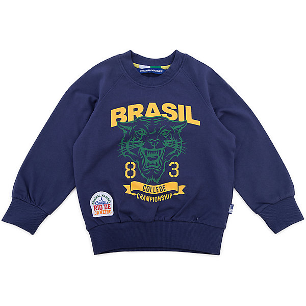 Толстовка Original Marines для мальчикаТолстовки<br>Характеристики товара:<br><br>• цвет: синий<br>• состав ткани: 100% хлопок<br>• сезон: демисезон<br>• застежка: молния<br>• длинные рукава<br>• страна бренда: Италия<br>• страна изготовитель: Бангладеш<br><br>Детская одежда от итальянского бренда Original Marines обеспечит ребенку комфорт в любую погоду. Эта детская толстовка дополнена мягкими манжетами и резинкой по низу. Толстовка для ребенка стильно смотрится - она оригинально декорирована принтом. Детская толстовка создает комфортные условия и удобно сидит по фигуре. <br><br>Толстовку Original Marines (Ориджинал Маринс) для мальчика можно купить в нашем интернет-магазине.<br>Ширина мм: 190; Глубина мм: 74; Высота мм: 229; Вес г: 236; Цвет: синий; Возраст от месяцев: 72; Возраст до месяцев: 84; Пол: Мужской; Возраст: Детский; Размер: 116/122,104/110,92/98; SKU: 7429723;