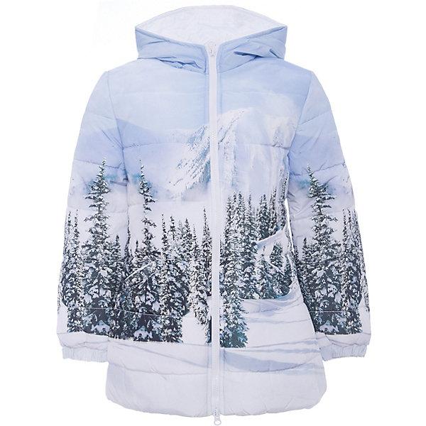Куртка Original Marines для девочкиВерхняя одежда<br>Характеристики товара:<br><br>• цвет: голубой<br>• состав ткани: 100% полиуретан<br>• подкладка: 100% полиэстер<br>• сезон: демисезон<br>• температурный режим: от +5 до +15 <br>• особенности модели: с капюшоном<br>• застежка: молния<br>• стразы<br>• страна бренда: Италия<br>• комфорт и качество<br><br>Принтованная детская куртка легко надевается благодаря молнии. Куртка для ребенка стильно смотрится. Детская куртка создает комфортные условия и удобно сидит по фигуре. Детские товары от бренда Original Marines давно завоевали любовь потребителей благодаря высокому качеству и стильному дизайну.<br><br>Куртку Original Marines (Ориджинал Маринс) для девочки можно купить в нашем интернет-магазине.<br>Ширина мм: 356; Глубина мм: 10; Высота мм: 245; Вес г: 519; Цвет: голубой; Возраст от месяцев: 120; Возраст до месяцев: 132; Пол: Женский; Возраст: Детский; Размер: 152/158,128/134,140/146; SKU: 7429819;