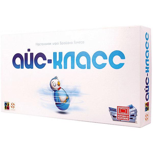 Настольная игра Стиль жизни Айс-классНастольные игры для всей семьи<br>Характеристики товара:<br><br>• возраст: от 5 лет;<br>• размер упаковки: 20,5х40,5х5,5 см.;<br>• состав: картон, пластик, дерево;<br>• упаковка: картонная коробка;<br>• вес в упаковке: 1 кг.;<br>• бренд, страна: Стиль Жизни, Россия;<br>• страна-производитель: Германия.<br><br>Настольная игра для детей и всей семьи  «Айс-Класс» от Брайена Гомеса - это простая и увлекательная игра с отличным оформлением и простыми правилами.<br><br>Ловкие пингвины гоняют по скользким ледяным коридорам школы, а за ними вдогонку дежурный! Кто же самый быстрый и ловкий? Пингвинята пытаются собрать по три рыбки, а дежурный старается схватить их и отобрать пропуска. <br><br>Состав игры: 4 пластмассовых пингвина, 5 картонных коробок (комнаты), 16 деревянных рыбок (12 цветных рыбок и 4 белых рыбки), 45 Рыбных карт (1, 2 или 3 победных очка на каждой), 4 карты-памятки цвета игрока, 4 пропуска для пингвинов, правила на русском языке.<br><br>Подходит для компании от 2 до 4 человек, для детей старше 6 лет, способствует развитию памяти, внимательности, мелкой моторики, логического мышления и коммуникабельности.<br><br>Компания «Настольные игры - Стиль жизни», основанная в 2005 году, занимается разработкой и продажей как собственных настольных игр и головоломок, так и настольных игр от ведущих зарубежных издательств. В ассортименте компании представлены игры на любой вкус и на любую компанию. <br><br>Настольную игру для детей и всей семьи  «Айс-Класс» от Брайена Гомеса, Стиль жизни, можно купить в нашем интернет-магазине.<br><br>Ширина мм: 205<br>Глубина мм: 405<br>Высота мм: 55<br>Вес г: 1010<br>Возраст от месяцев: 72<br>Возраст до месяцев: 2147483647<br>Пол: Унисекс<br>Возраст: Детский<br>SKU: 7431542