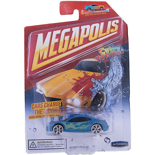 Машинка Autotime, Color Twisters Water Chameleon, металлическая, сине-зеленыйМашинки<br>Характеристики:<br><br>• возраст: от 3 лет;<br>• цвет игрушки: сине-зеленый;<br>• особенности: машинка меняет цвет в воде;<br>• материал: пластик, металл;<br>• размер: 12,7х17,8х4 см;<br>• тип упаковки: блистер на картоне;<br>• бренд, страна бренда: Autotime, США;<br>• страна производитель: Китай.<br><br>Машинка от бренда Autotime «Color Twisters Water Chameleon» - это красивая игрушечная модель спортивной машины, которая входит в серию товаров под названием Color Twisters. <br><br>Интересной особенностью данного автомобиля является возможность менять цвет. Если опустить машинку в горячую воду, то расцветка изменится, а если затем опустить в холодную, то цвет станет прежним. Машина изготовлена из литого металла и пластмассы.<br><br>Машинка сделана из безопасных материалов. Так же красители, которыми окрашены все части автомобиля являются гипоаллергенными и не навредят здоровью ребенка. Игрушка прошла все необходимые проверки и получила все сертификаты качества.<br><br>Color Twisters Water Chameleon действительно уникальная игрушка которая подарит вашему ребенку много радости и приятное времяпрепровождение за игрой. Отличный вариант для пополнения коллекции игрушечных машинок вашего ребенка.<br><br>Машинку от бренда Autotime «Color Twisters Water Chameleon», цвет- сине-зеленый, можно купить в нашем интернет-магазине.<br>Ширина мм: 127; Глубина мм: 178; Высота мм: 39; Вес г: 63; Возраст от месяцев: 36; Возраст до месяцев: 2147483647; Пол: Мужской; Возраст: Детский; SKU: 7431652;